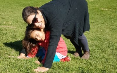Parent and kids yoga